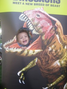I love this picture of my silly Linc.  It is extra special because he loved the commercial the Science Museum ran of this exhibit and would sing along to it.