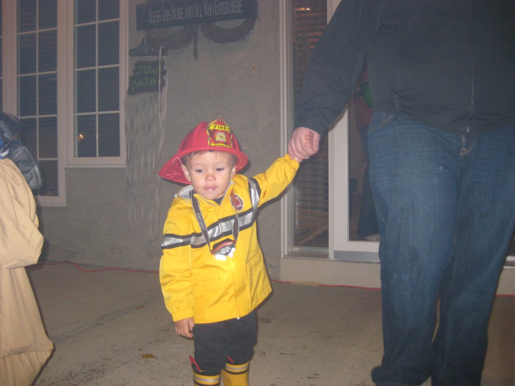 Firefighter Linc to the rescue.