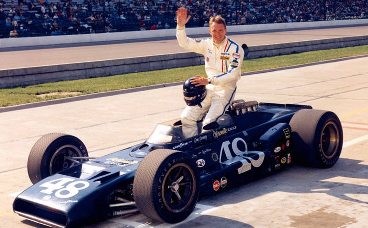 Dan Gurney found success in every top-tier racing series