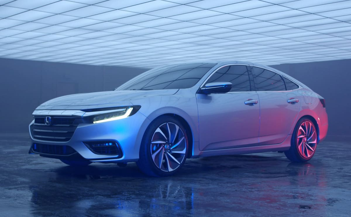 Honda to slot third-gen Insight hybrid above Civic
