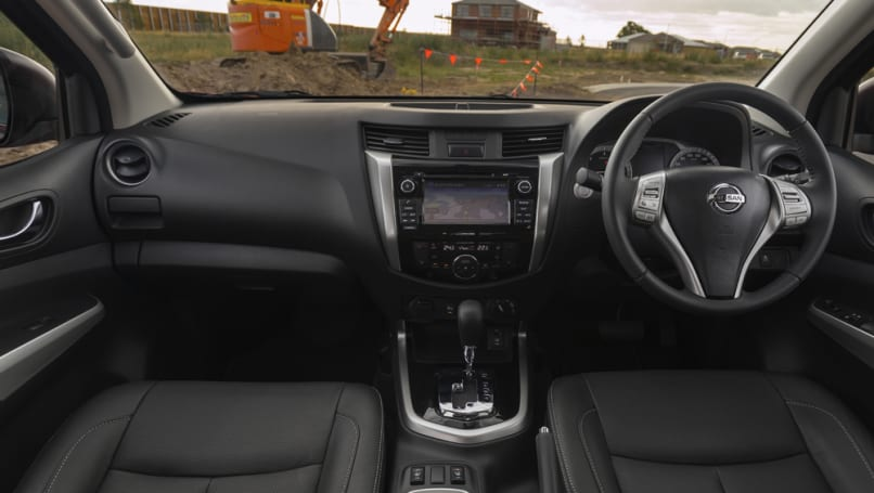 Nissan Navara scores added safety kit