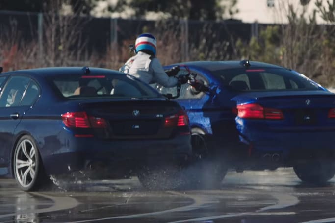 Watch the M5 smash two world records