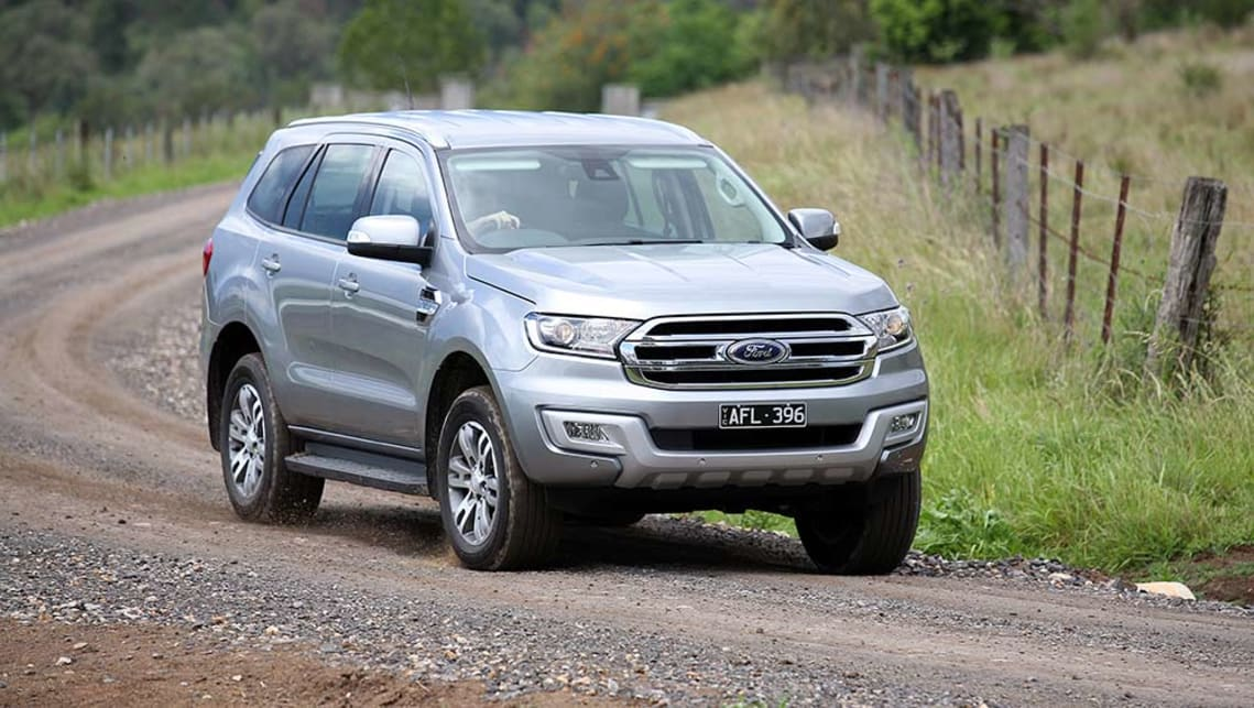 Ford Everest 2018 >> Ford Everest 4x2 confirmed for September - Car News | CarsGuide