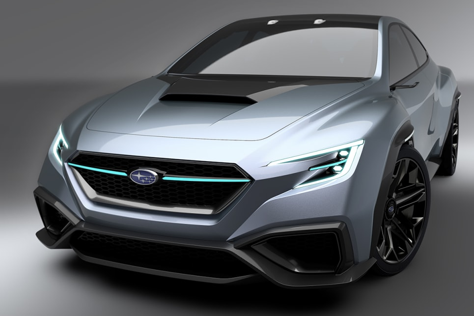 VIZIV Performance Concept Is Subaru's Idea Of A WRX Tease