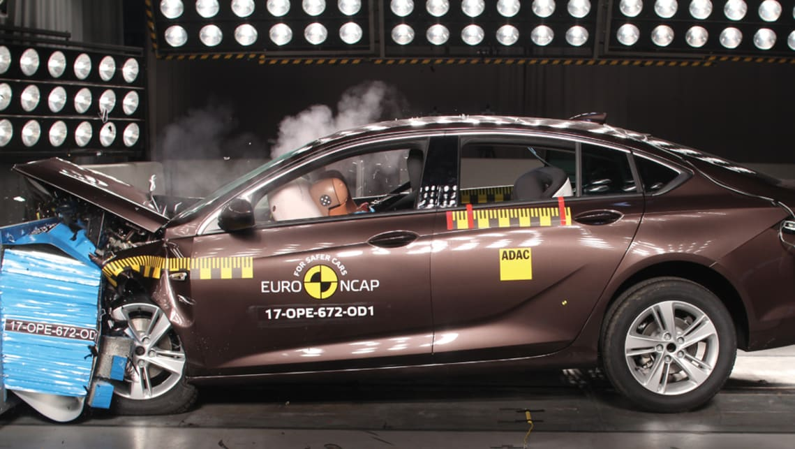 All-New Holden Commodore scores 5 star ANCAP rating