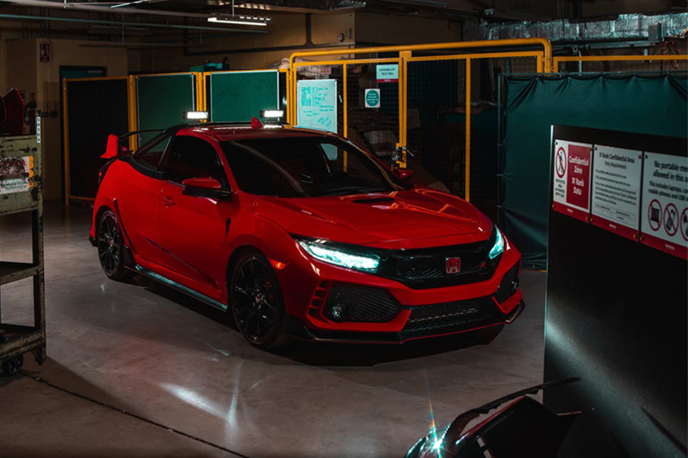 One-off Honda Civic Type R Pick Up Revealed in the UK