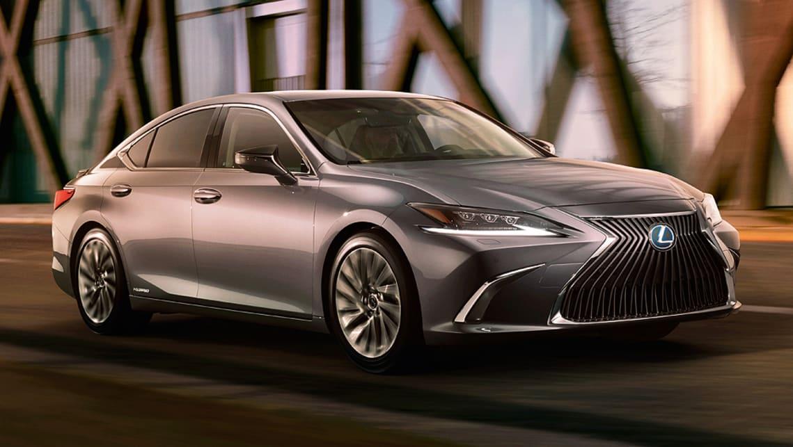 Lexus shows the 2019 ES before Beijing debut