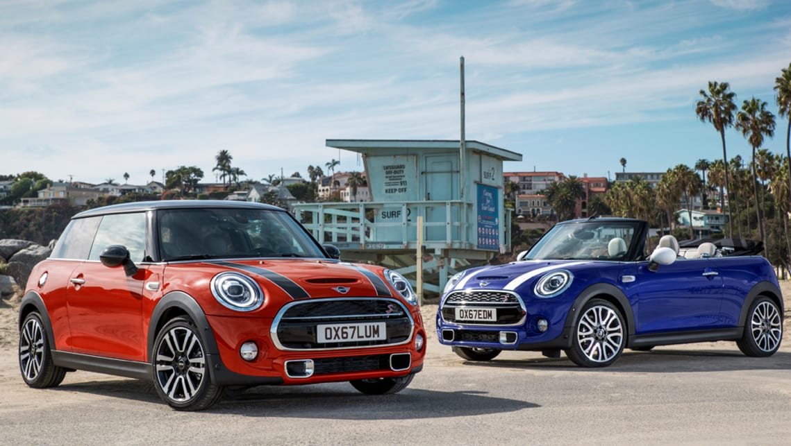 Mini hatch and convertible get refresh for 2018
