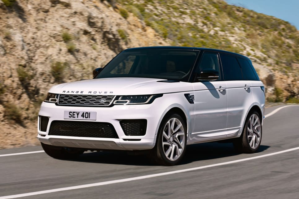 Range Rover Sport Gets Updates Including a Plug-In Hybrid Option