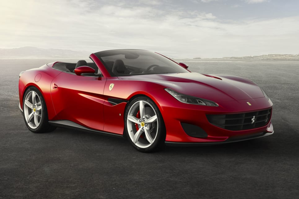 Ferrari unveils its sexy new Portofino drop