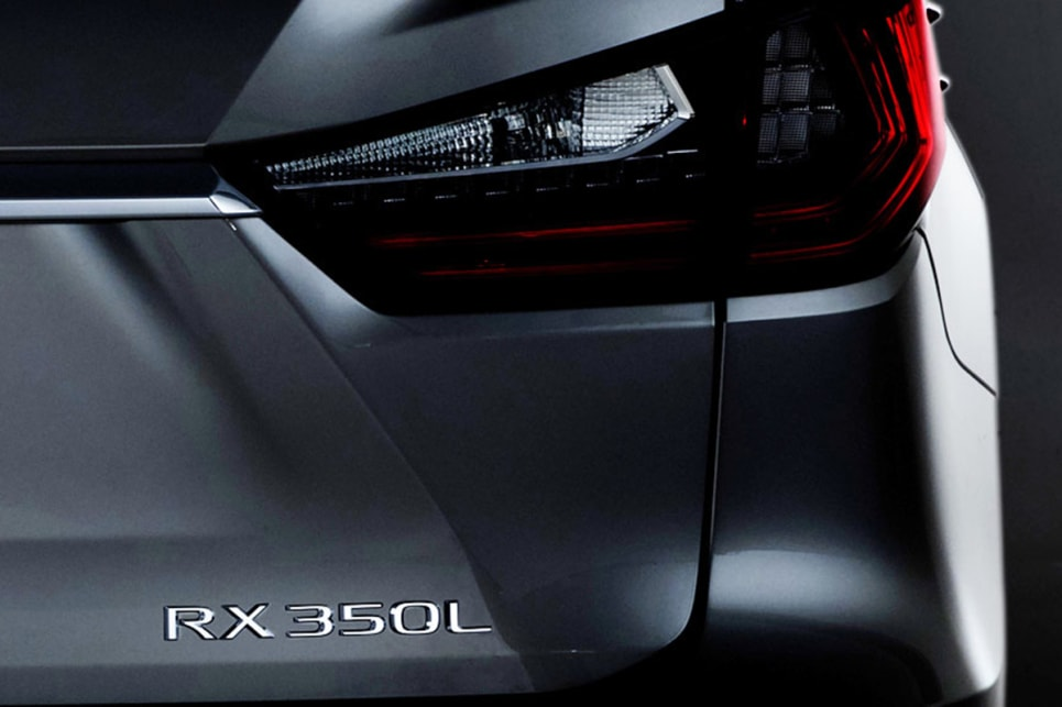 Lexus RX L seven-seater on the way