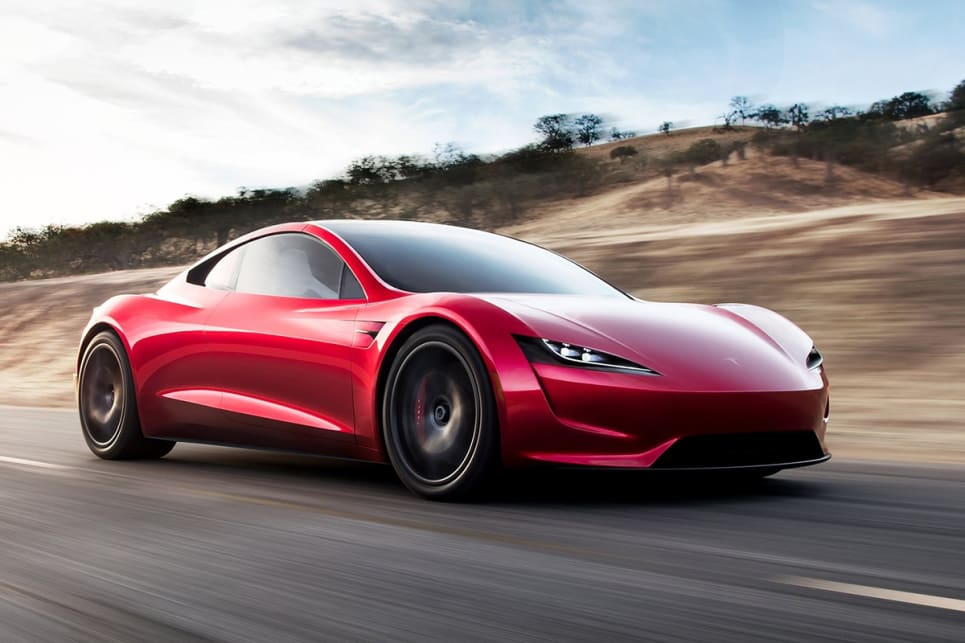 Please Do Not Try To Fly The Tesla Roadster