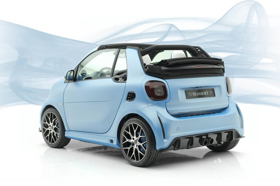 Okay, we guess it's kind of cute. (image credit: Mansory)