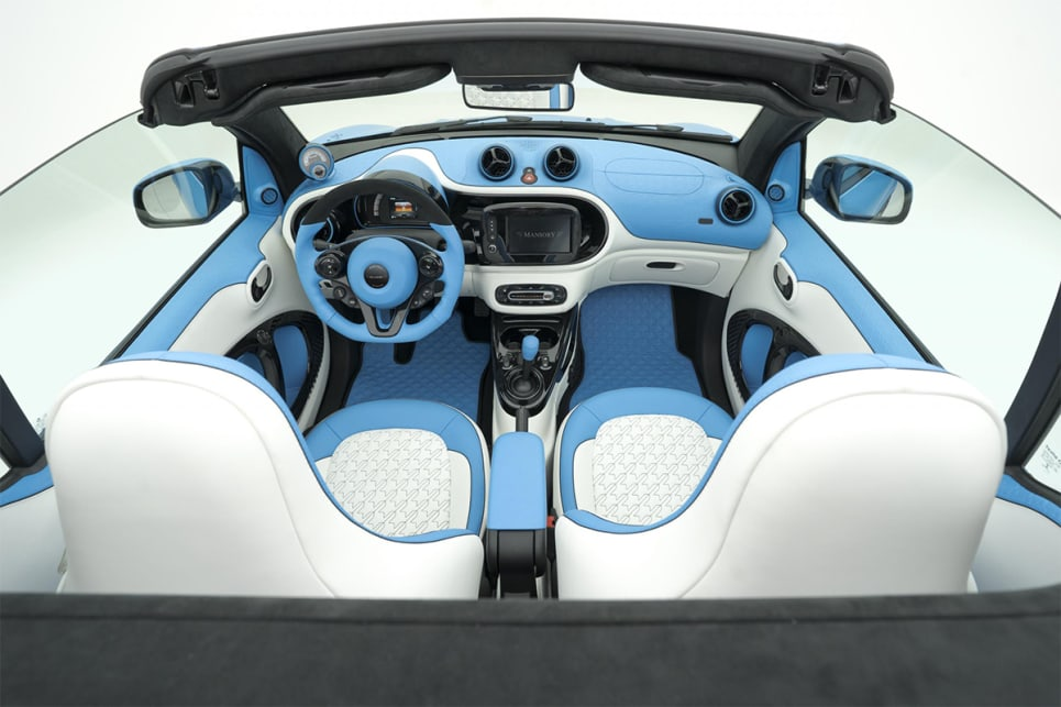 """Mansory describes the interior as """"light, elegant and soft."""" (image credit: Mansory)"""