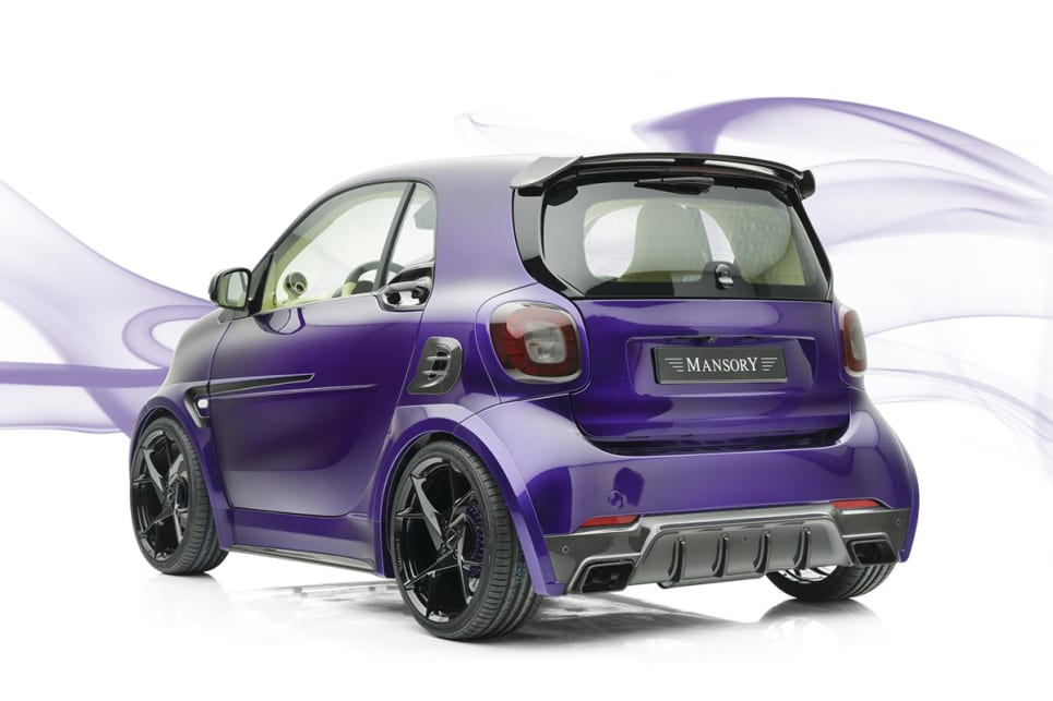 We're suckers for anything purple. (image credit: Mansory)