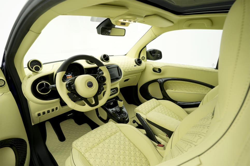 You wouldn't want to sit on these seats with a pair of cheap jeans. (image credit: Mansory)