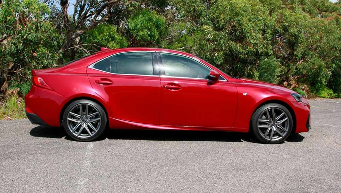 lexus is200t f sport 2017 review carsguide. Black Bedroom Furniture Sets. Home Design Ideas