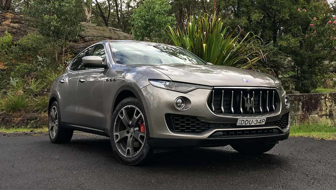 Maserati Levante 2017 Review Carsguide