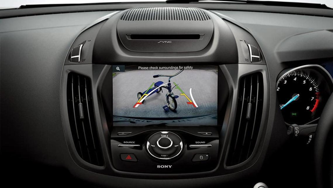 Ford Kuga Gains Standard Reversing Camera Sync