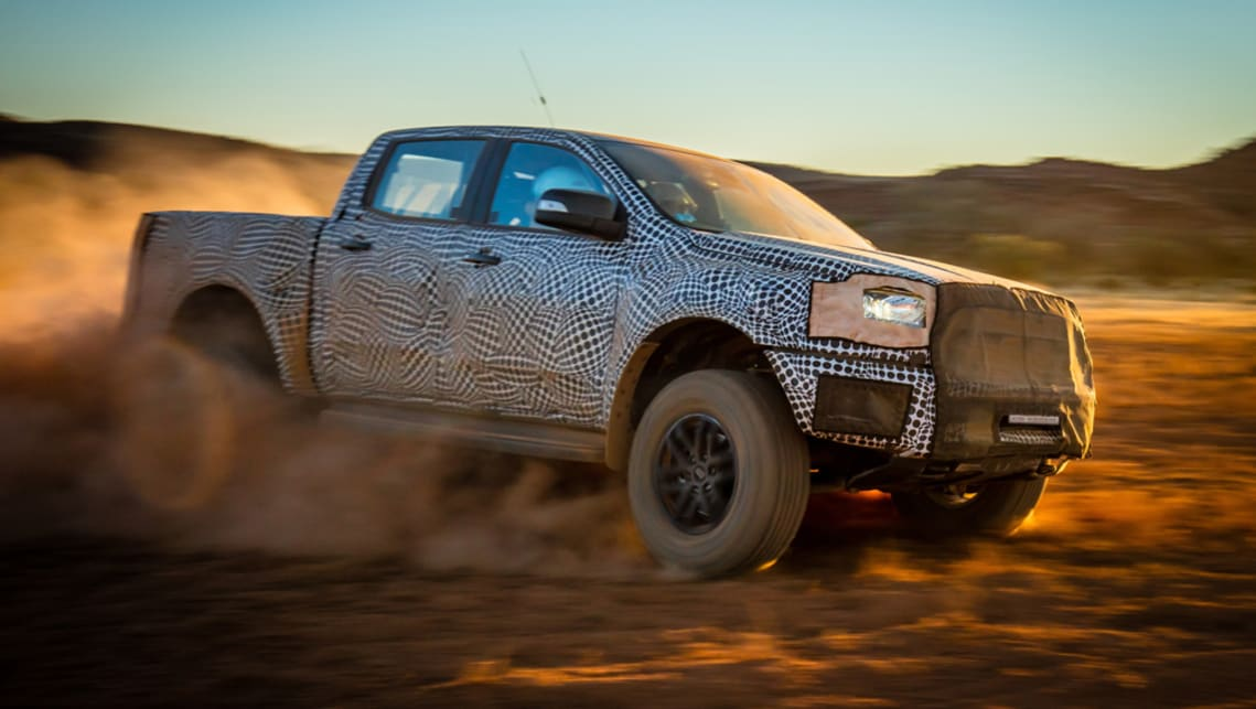 Ford Ranger Raptor is coming in 2018
