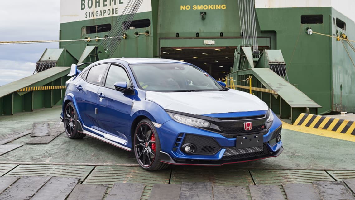 Honda Civic Type R arrives in Australia