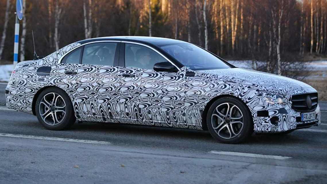 2016 Mercedes-Benz E-Class to bring smartphone key tech - Car News | CarsGuide