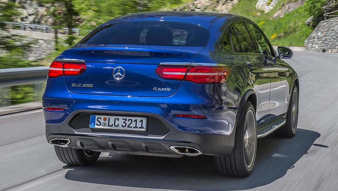 Mercedes-Benz GLC coupe 2016 review | CarsGuide