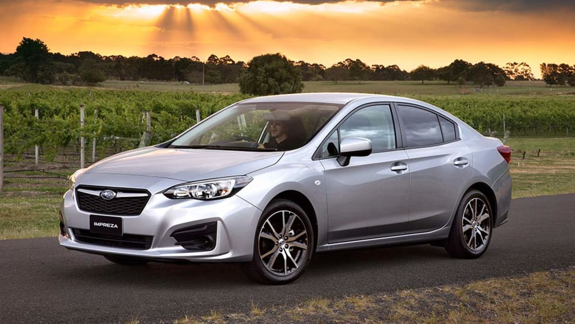 Elantra 2017 Silver >> Subaru Impreza 2.0i sedan 2017 review: snapshot | CarsGuide