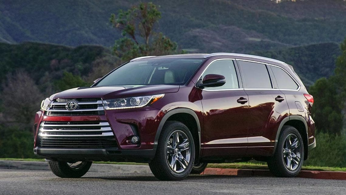 Toyota Kluger 2017 Review First Drive Carsguide