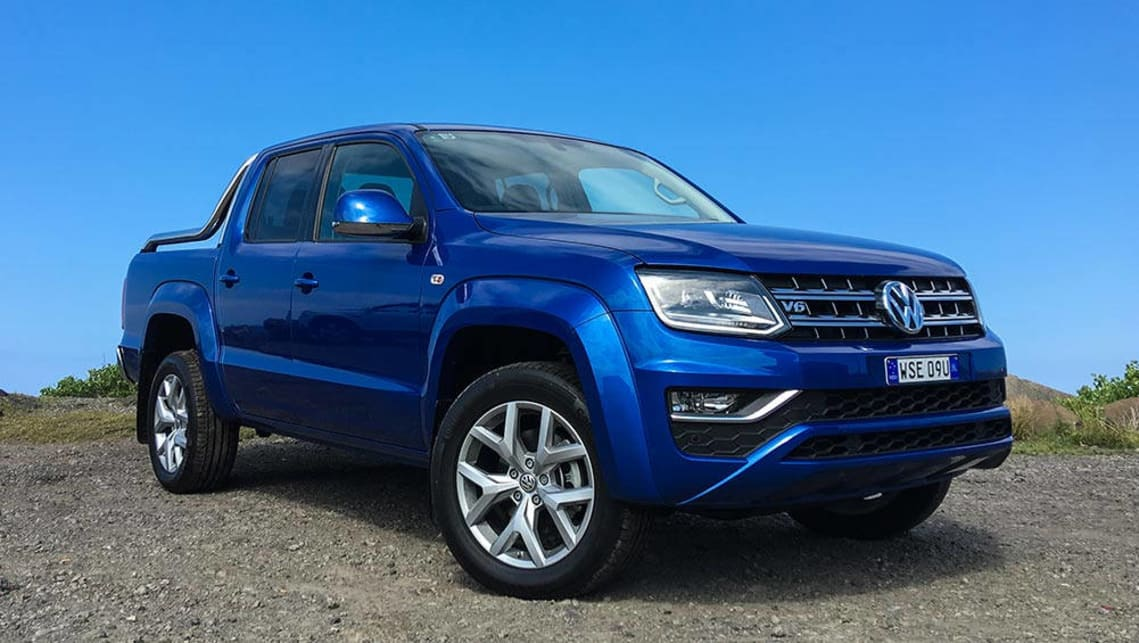 volkswagen amarok tdi550 ultimate 2017 review road test carsguide. Black Bedroom Furniture Sets. Home Design Ideas