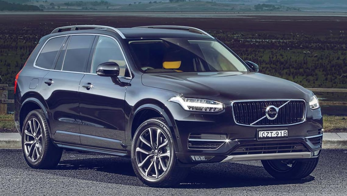 Toyota 7 Seater Cars >> Volvo XC90 2015 review   CarsGuide