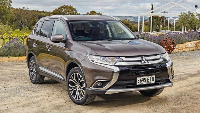 2016 Mitsubishi Outlander Reviews Carsguide
