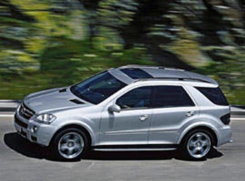 Mercedes m class 2005 review carsguide for 2005 mercedes benz ml350 review