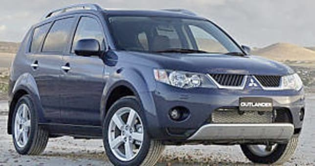 mitsubishi outlander 2006 review carsguide. Black Bedroom Furniture Sets. Home Design Ideas