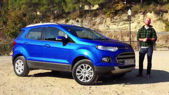 Nissan Insurance 2014 Ford EcoSport review | video | CarsGuide
