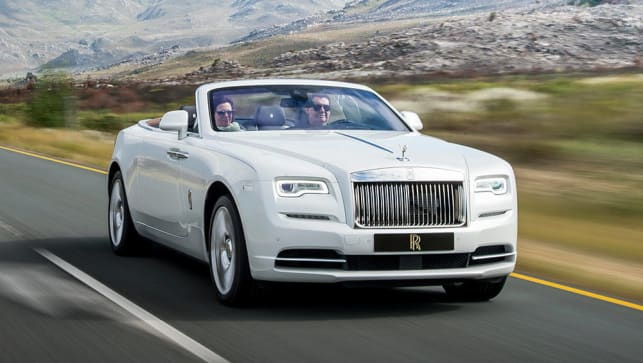 Bentley Continental Dimensions >> 2016 Rolls-Royce Dawn review | first drive | CarsGuide