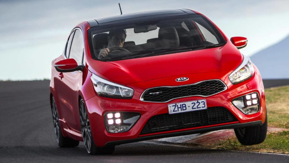 2014 kia pro cee 39 d gt review carsguide. Black Bedroom Furniture Sets. Home Design Ideas