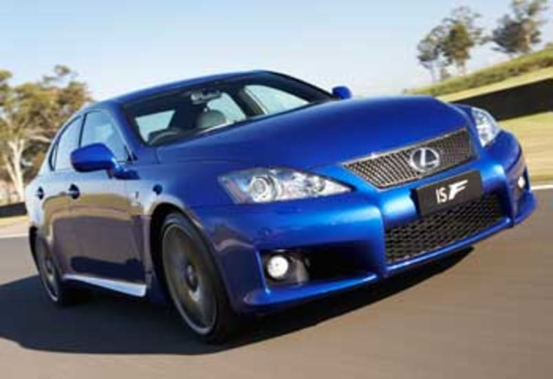 lexus is f review carsguide. Black Bedroom Furniture Sets. Home Design Ideas