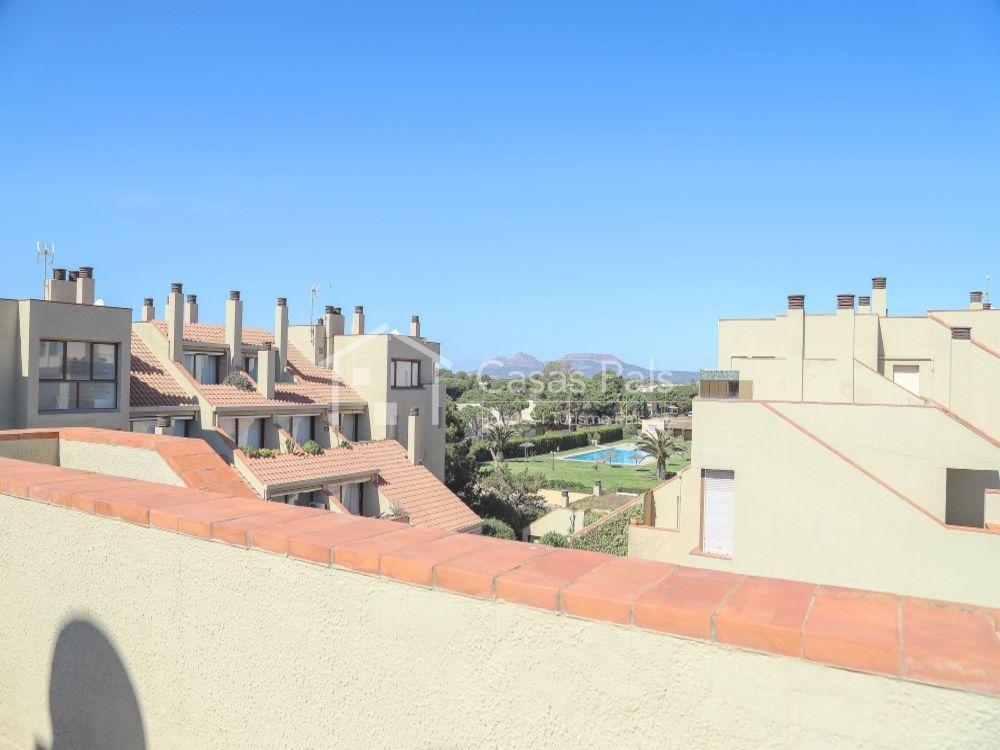 Dachwohnung neben dem Golfplatz in Appartementanlage Villa de Golf