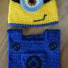 Minion Hat and Bib Set