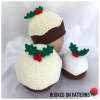 Christmas Pudding Beanie Hats