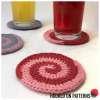 Candy Swirl Coasters