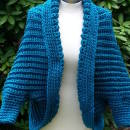 Teal Simple Shrug