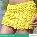 Layered Crochet Skirt