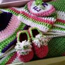 Emmy's baby girl colorful set
