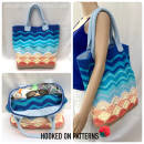 Sea Shells Beach Bag