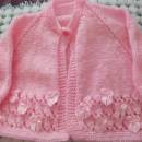 lace and ribbon jacket