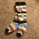 Crocheted Knee High Socks