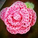 Tiny Crochet Rose