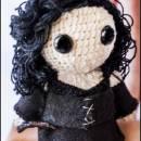 Bellatrix Lestrange Amigurumi - Harry Potter - La Calabaza de Jack